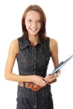 Female university student Royalty Free Stock Photo