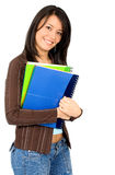 Female university student Royalty Free Stock Photos