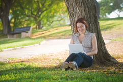 Female university student Stock Photos