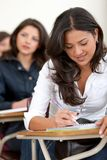 Female university student Stock Image