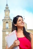 Female university student success Stock Images