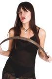 Female vamp Stock Photo