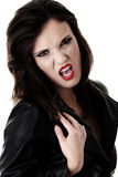 Female vampire Stock Photo