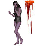 Female Vampire - 3D Figure Stock Photo