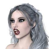 Female vampire. 3D CG rendering of a female vampire Stock Photo