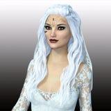 Female vampire. 3D illustration of a female vampire Royalty Free Stock Image