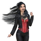 Female vampire Royalty Free Stock Photo