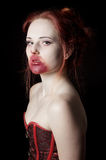 Female vampire Stock Photography