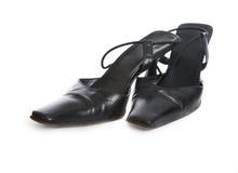 Female varnished shoes Stock Image