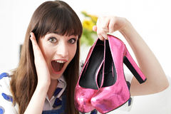 Female Vlogger Presenting Fashion Video Royalty Free Stock Image