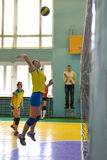 Female volleyball in Ukraine Stock Photography