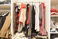 Female wardrobe Royalty Free Stock Photo