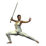 Female Warrior Royalty Free Stock Photos