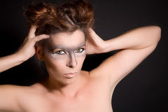 Female werewolf Royalty Free Stock Photos
