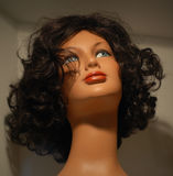 Female wig Royalty Free Stock Photo