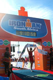 Female winner Ironman South Africa 2013 Stock Photography