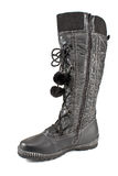 Female winter boots Royalty Free Stock Photo