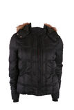 Female winter jacket Royalty Free Stock Photography