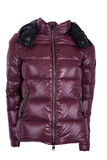 Female winter jacket Royalty Free Stock Images