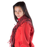 Female With Winter Jacket IV Royalty Free Stock Photos