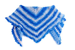 Female winter shawl Stock Image