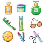 Female and Women Accessories Icon Stock Image