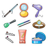 Female and Women Accessories Icon Stock Photos