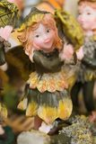 Female Woodland Sprite. Female forest pixie or woodland sprite, fairy or gnome Stock Photography