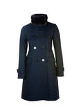 Female wool coat | Isolated Royalty Free Stock Photography