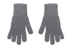 Female wool gloves Royalty Free Stock Photo