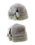Female woolen hat Stock Photo
