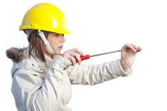 Female worker Stock Photos