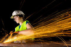 Female worker Royalty Free Stock Image