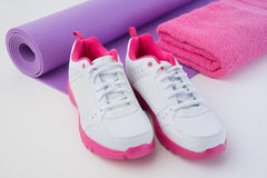 Female Workout Gear Royalty Free Stock Photography