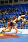 Female wrestling Royalty Free Stock Photography