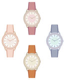 Female wristwatch Royalty Free Stock Image