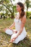 Female Yoga Master Stock Photos