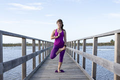 Female Yoga Stock Photography
