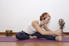 Female Yoga Royalty Free Stock Photography