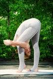 Female yoga Stock Image