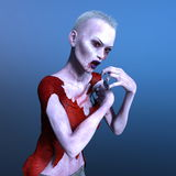 Female zombie Royalty Free Stock Images