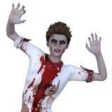 Female zombie Stock Image