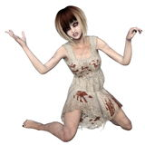 Female zombie Royalty Free Stock Image