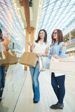 Females in boutique Stock Photography
