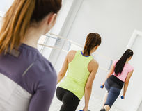 Females In Gym Royalty Free Stock Photo