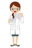 Females Pharmacist Stock Photos
