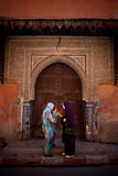 Females in the Souks Stock Images