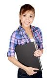 Femalestudent asiático joven hermoso. Fotografía de archivo libre de regalías