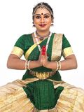 femelle classique de danseur de l'Asie photographie stock libre de droits