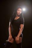 Femelle d'afro-américain Images stock